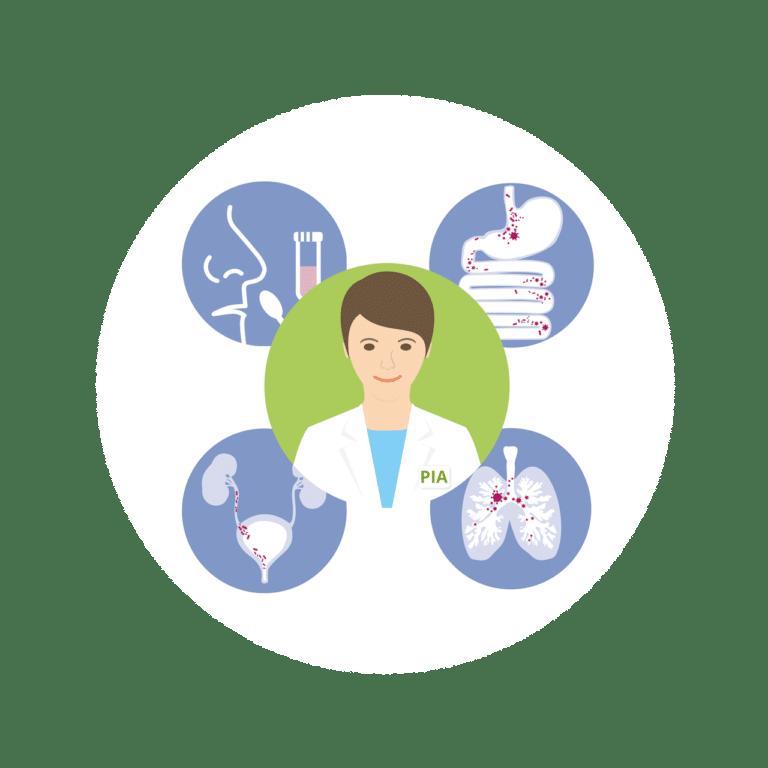 Intensiviertes Infektionsmodul in RESIST